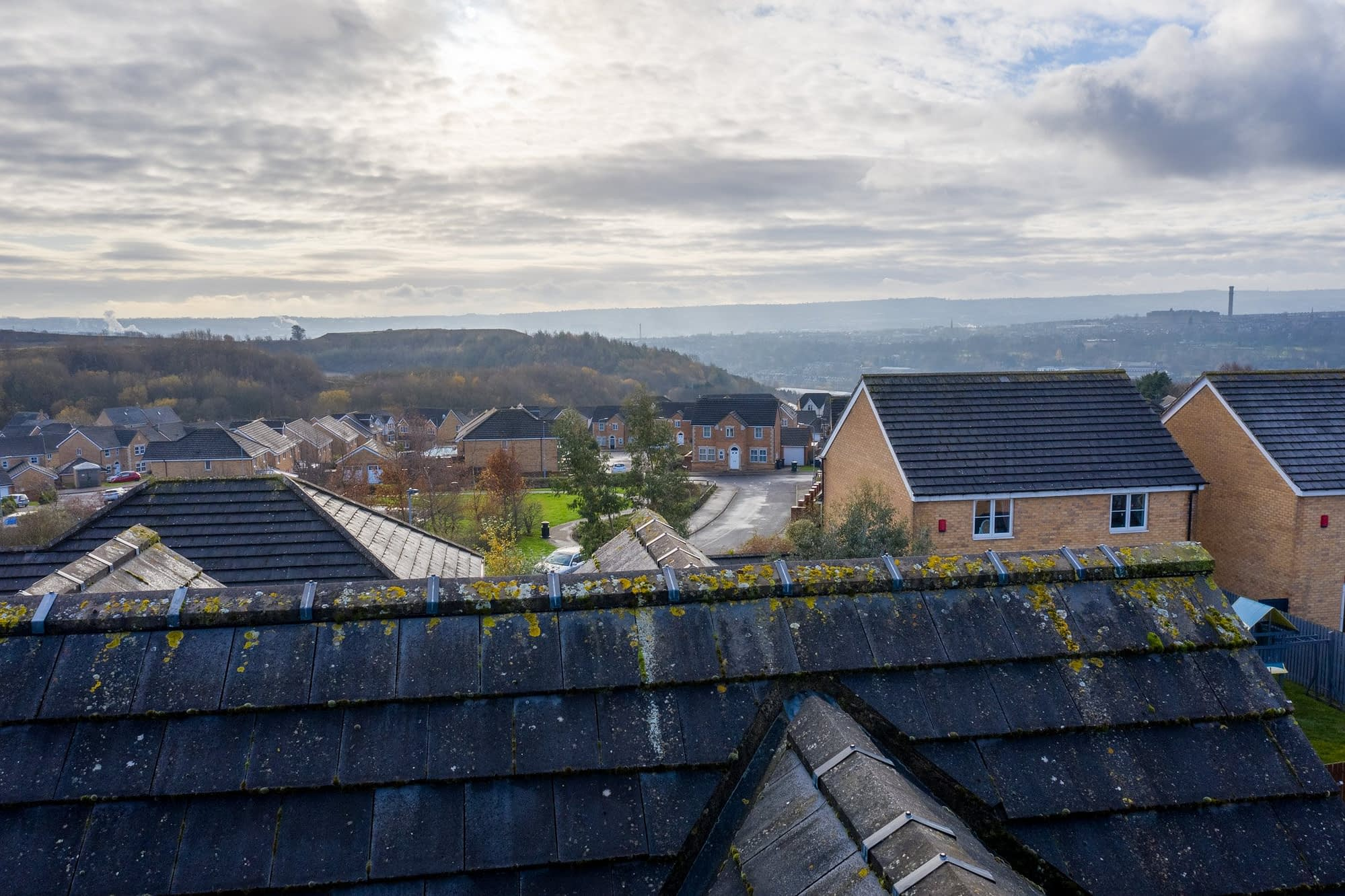 Photo from Drone Roof Inspection