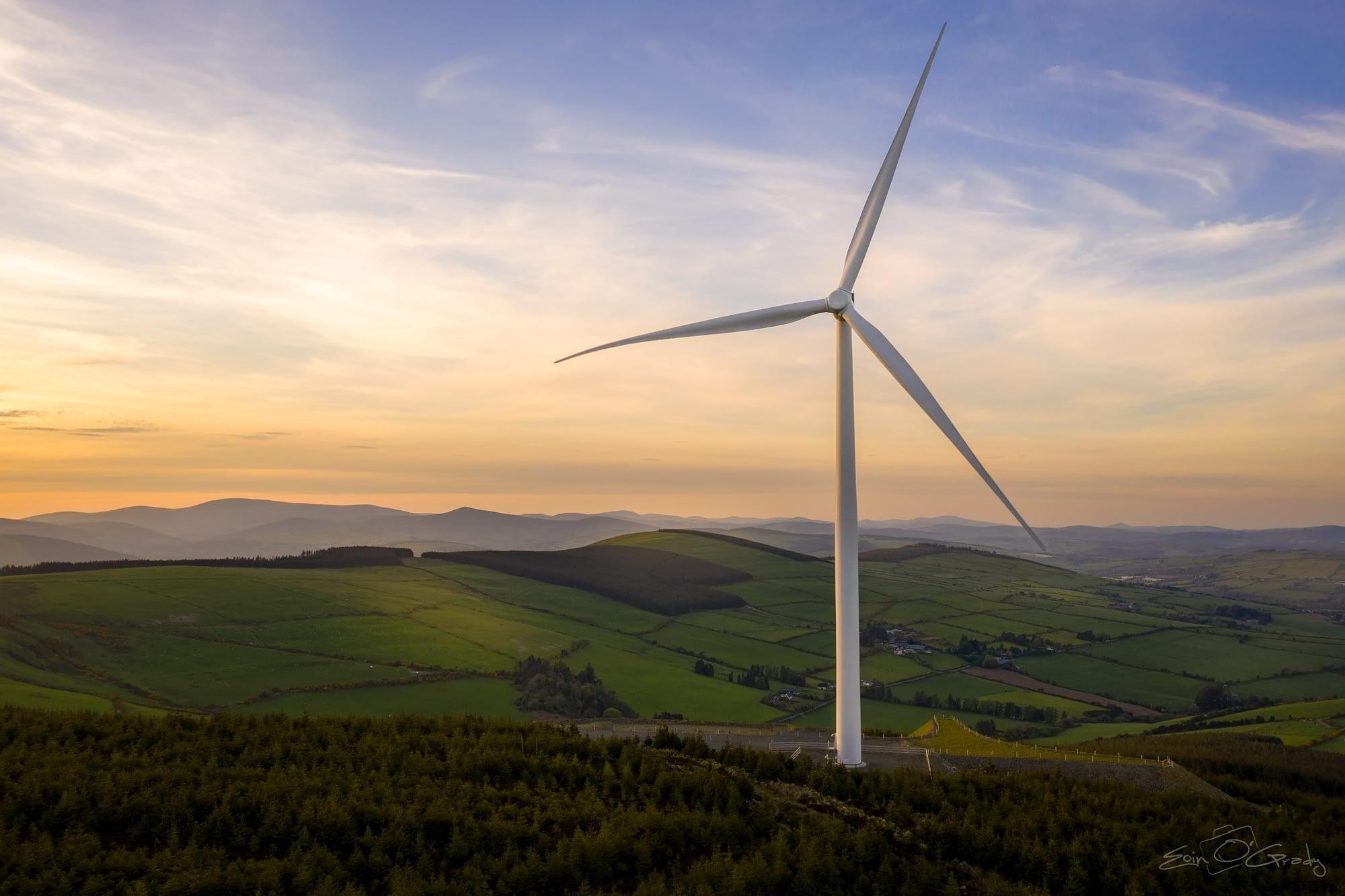 Raheenleagh Wind Farm, Co. Wicklow