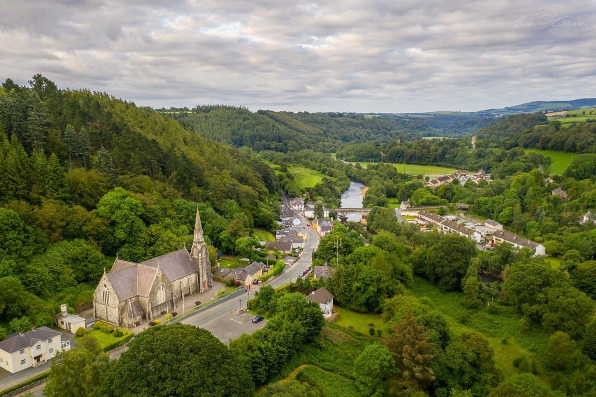 Avoca Village & Church