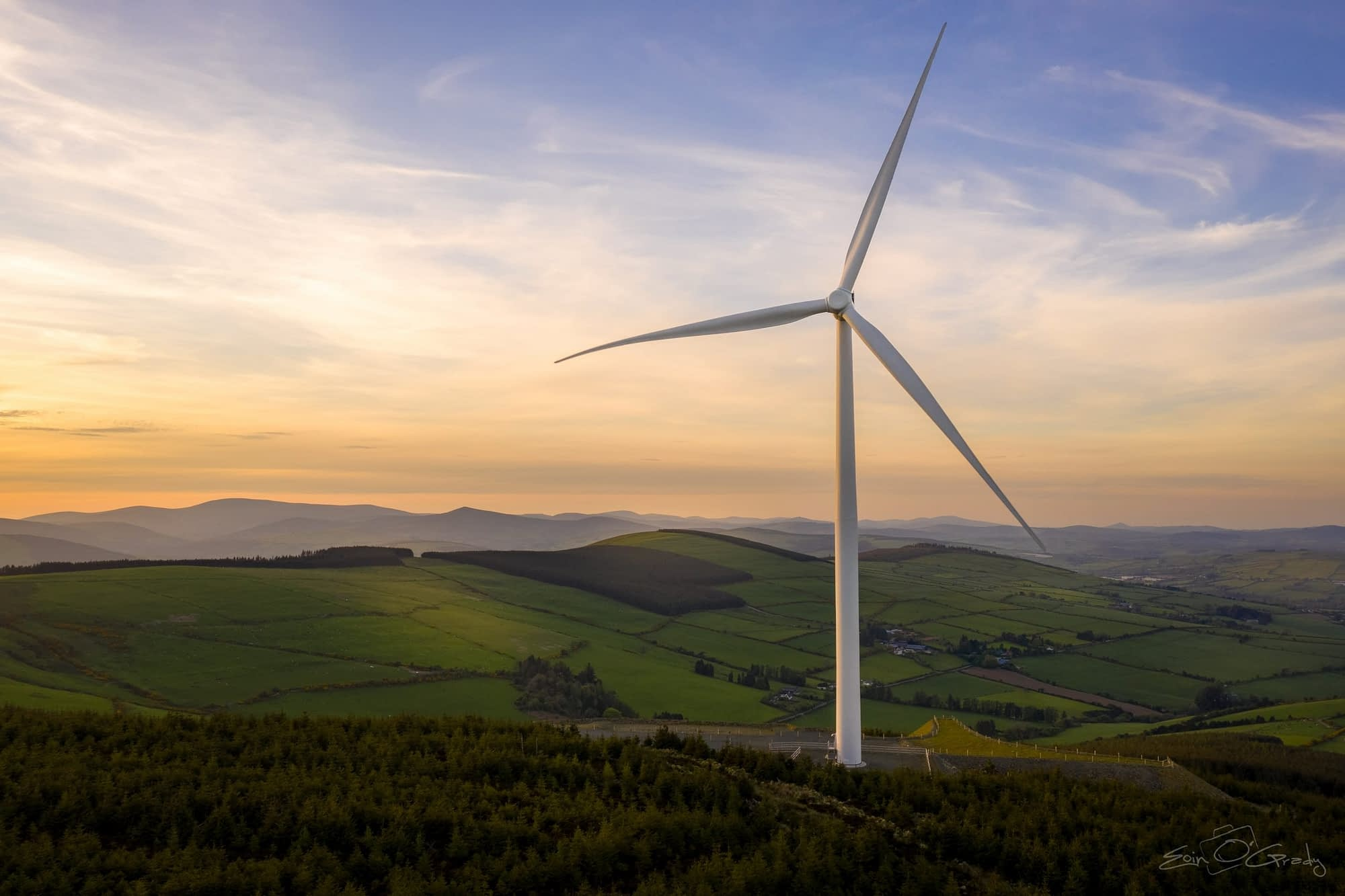 Raheenleagh Wind Farm, Co. Wicklow
