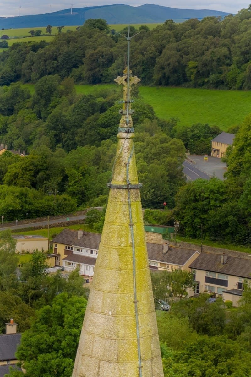 Aerial Steeple Inspection