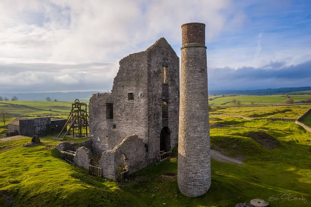 Cornish Engine House at Magpie Mines