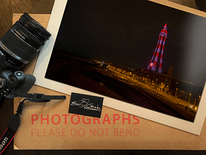 Blackpool dark!