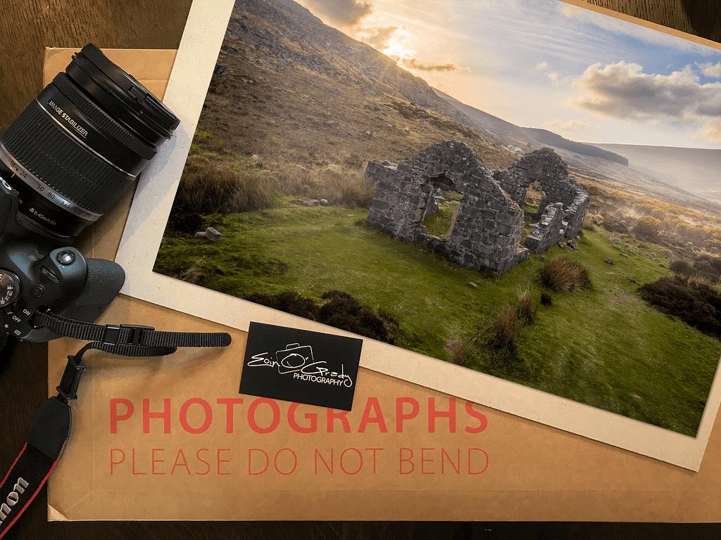 Photo print of Wicklow Gap, Ireland