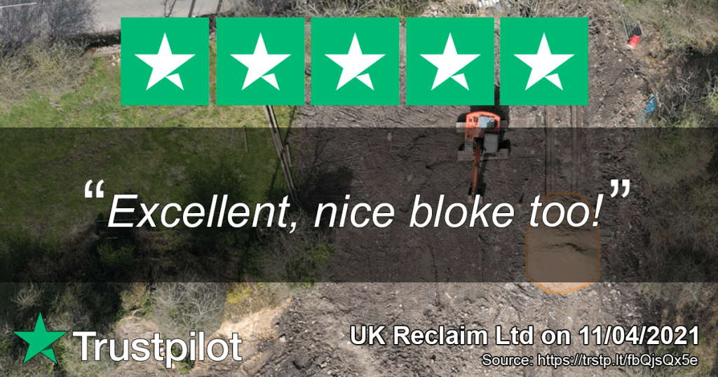 5 star review - UK Reclaim Ltd