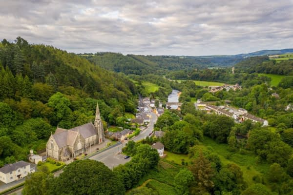 Avoca Village & Church