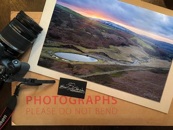 Hurst Reservoir Sunset Photo Print