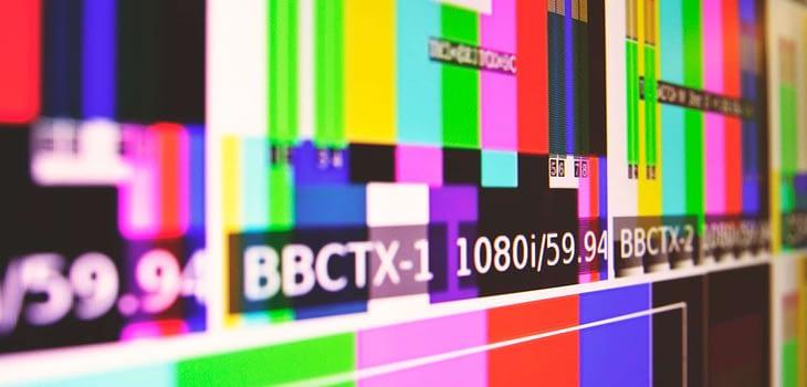 blur bright broadcast broadcasting