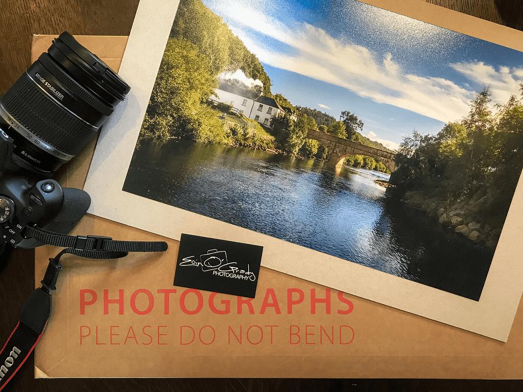 Photo print of the bridge in Avoca, Co. Wicklow, Ireland.