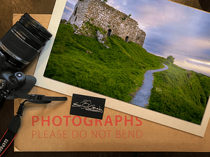The Rock of Dunamase - Photo Print