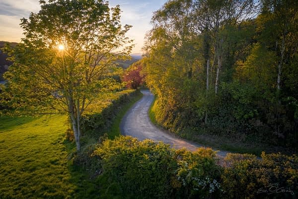 Country road, Ireland
