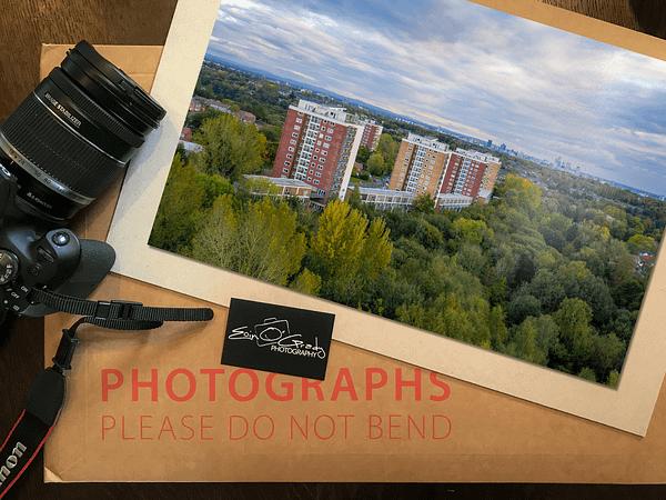 Lakeside Rise, Manchester Photo Print